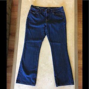 Loft Jeans Womens Sz 10P Curvy Bootcut. Pre Owned